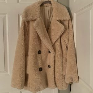 Fluffy Free People Jacket